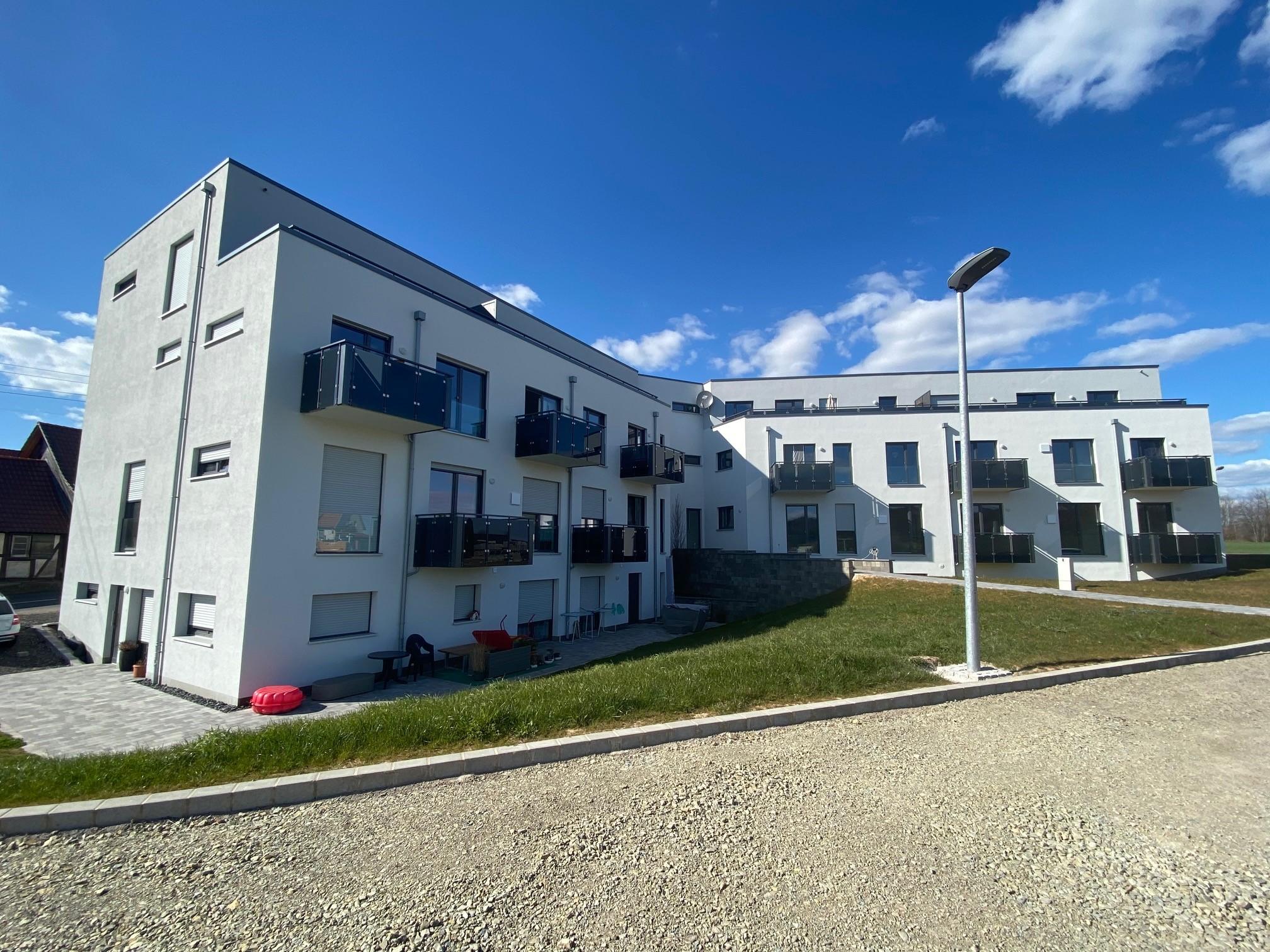 Familienwohnung mit schöner Terrasse in Hohengandern zu vermieten